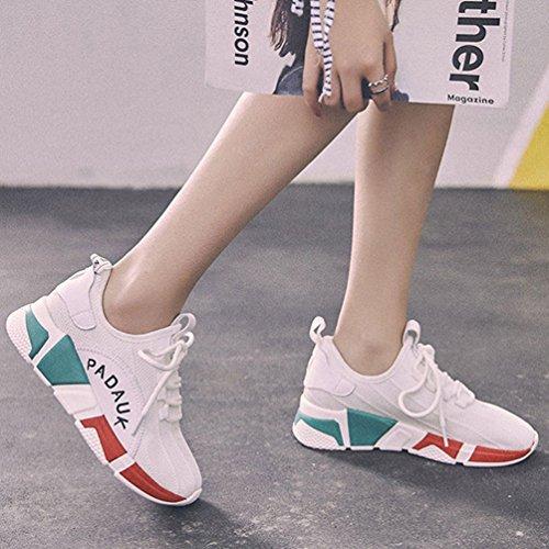 Zapatillas LFEU Running Lona de de Blanco Mujer PwxB4
