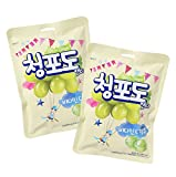 green grape candy - Haitai Plum Flavored Green Grape Candy 90g (Pack of 2)