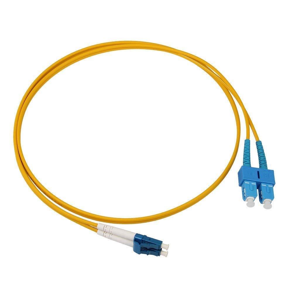 OS2 LC a SC fibra ottica patch cavo 9/125 Monomodale Duplex, LSZH 2-meter (2 m) LSZH 2-meter (2m) Parkson Hall