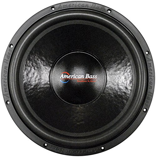 New American Bass Xd1522 15 Inch Dual 2 Ohm Subwoofer Car Audio Sub 15