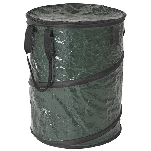 Stansport Collapsible Campsite Carry-All Trash Can, - Bag Garden Up Pop