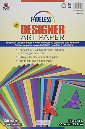 Pacon Spectra Fadeless Designer Sheets (Fadeless Metallic Art Paper)