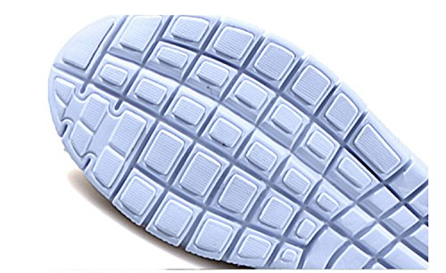 Blue Shoes Sports Mesh Trainer Casual Ups Shape Athletic Outdoor Sneakers Girls Breathable Walking Slip Outdoors Athlectic Sports Shoes Huaishu amp; Loafers On Fashion Womens Running Mesh 8w14t4
