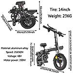 Alta-velocita-Pieghevole-bici-elettrica-Ebike-14-bicicletta-elettrica-con-48V-rimovibile-agli-ioni-di-litio-350W-motore-freni-a-disco-doppio-3-Digital-regolabile-Velocita-manico-pieghevole