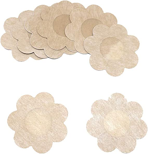 5 10 20 or 50 Pairs New Womens Round or Petal Shaped Adhesive NIPPLE COVER
