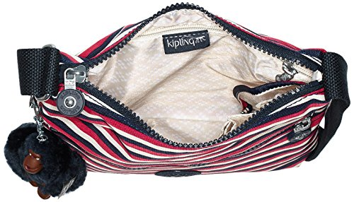 Body Bag Cross Zamor Kipling Women's Sugar Stripes Multicolour tBqHETnwIx