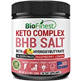 Biofinest BHB Salts Ketones Exogenous Ketone Keto Complex – Beta-Hydroxybutyrates (Calcium, Sodium, Magnesium) – Supplement for Ketosis, Energy, Focus (8.5oz) (Raspberry Lemonade)