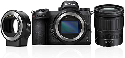 Nikon Z 6 Spiegellose Vollformat Kamera Mit 24 70 Mm Kamera