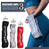 Cheap GYMMAGE Hip Bands,Booty Resistance Fitness Loop Exercise Bands,Thigh & Glutes Soft & Non-slip Design Hip Circle Band For Legs & Butt Building,Warm-Up,Hip Workout,Activating Glutes(3 in 1 Bundle)
