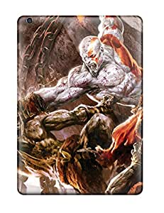 1069292K78435783 High Impact Dirt/shock Proof Case Cover For Ipad Air (god Of War 2 Game Hdtv)