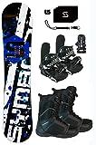 Symbolic 369 Snowboard & Bindings & Boots & Leash & Stomp & Burton Decal Package