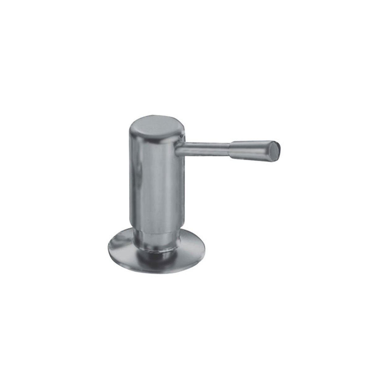 Franke 902-SN Logik Counter-Sunk Kitchen Top Refill Soap Dispenser, Satin Nickel by Franke