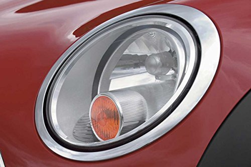 MINI Cooper / Cooper S Headlight Covers with No Washers for Clubman R55, Hardtop R56, Convertible R57, Coupe R58, & Roadster R59