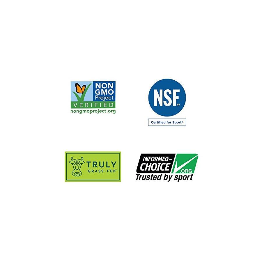 Garden of Life Sport Certified Grass Fed Whey Protein Powder