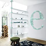 3D three-dimensional design, exclusive new Apply to any smooth and clean surfaces such as walls, refrigerator, glass Different shapes can be designed according to different preferences, beautify the walls, creating a variety of styles