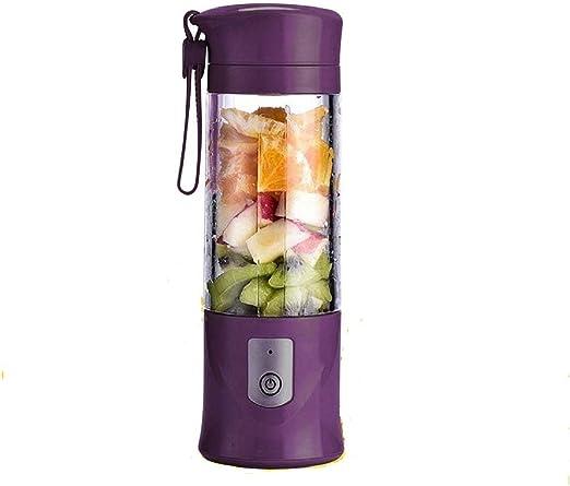 SZJJI Electric Mixer Licuadora de Frutas Recargable portátil Mini ...