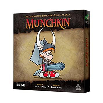Edge Munchkin Mu01 Juego De Mesa Amazon Es Juguetes Y Juegos