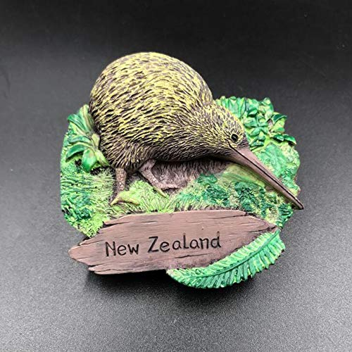New Zealand Kiwi Flightless Bird Animal Collection Resin 3d Fridge ()