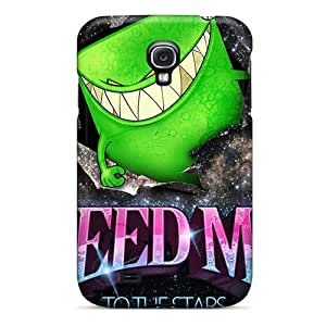 Tpu Case Cover Compatible For Galaxy S4/ Hot Case/ Feed Me