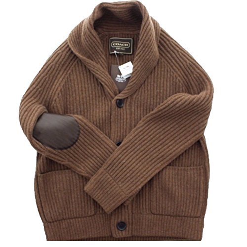 Coach Cashmere Cardigan Sweater 83151