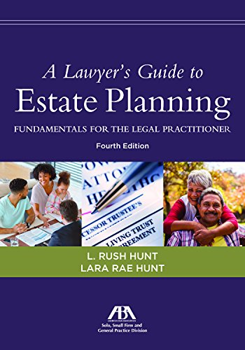 Pdf Law A Lawyer's Guide to Estate Planning, Fundamentals for the Legal Practitioner
