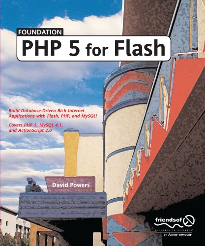 Foundation PHP 5 for Flash by Brand: friendsofED