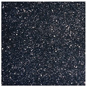 18 X 18 Polished Granite Tile In Black Galaxy Ceramic Tiles