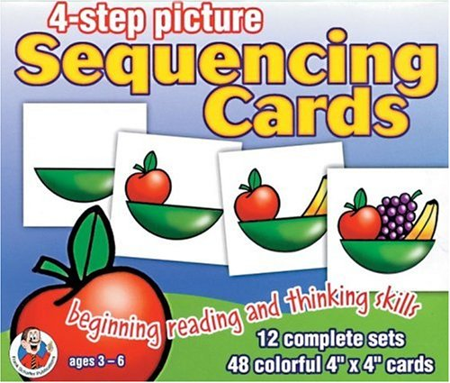 4-Step Picture Sequencing Cards: Frank Schaffer: 9780768215809 ...