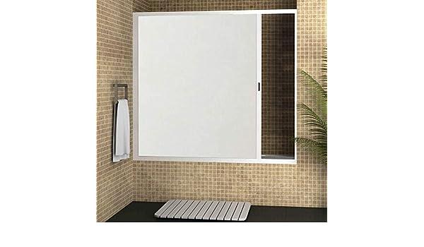 Strategy Products Mampara para bañera Enrollable con cajón Derecha y Cierre Izquierda 180 x 150: Amazon.es: Hogar