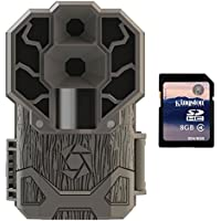 Stealth Cam 30MP Ultra High Res 4K HD No Glo IR Game Trail Camera + 8GB SD Card