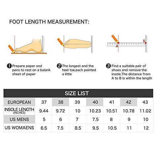 Mann-beiläufige Turnschuhe athletische gehende Schuhe bequeme Sport-laufende Schuhe mit Luftpolster Lila (kein Luftkissen)