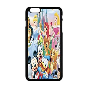 Disney Cartoon Character Case Cover For iPhone 6 Plus Case