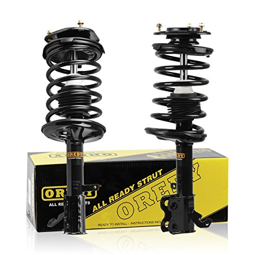 Toyota Front Struts - OREDY Front Pair Complete Struts Shock Absorber Assembly Compatible with TOYOTA COROLLA/CHEVROLET PRIZM 1998 1999 2000 2001 2002/GEO PRIZM 1993 1994 1995 1996 1997