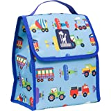 Olive Kids Trains, Planes and Trucks Munch 'n Lunch Bag