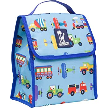 Olive Kids Trains, Planes and Trucks Lunch Bag