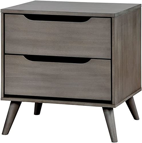 William's Home Furnishing CM7386GY-N Lennart Nightstand