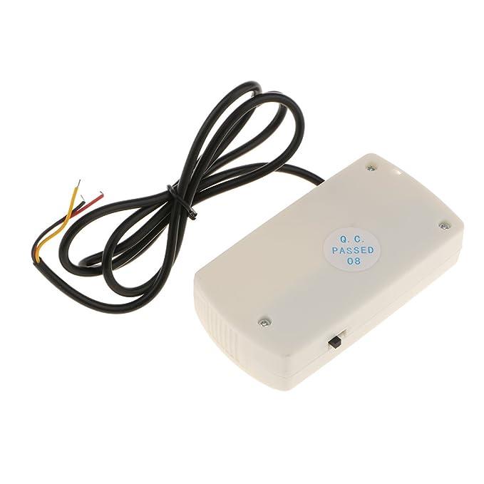MagiDeal Alarma de Apagado Automático Corte Falla de Energía de Casa Sirena de 120db