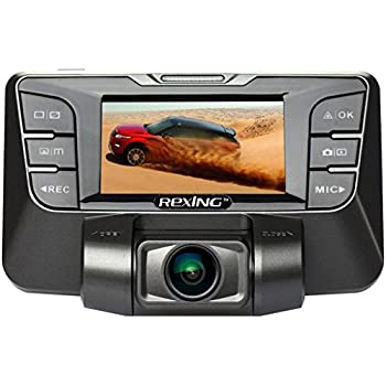 REXING S300 Dash Cam Pro with 1080P 170 Degree Wide Angle Night Vision