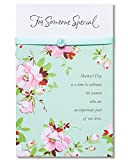 Someone Special Mother's Day Card with Ribbon