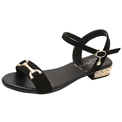 dc385cadf Lolittas Glitter Gladiator Summer Sandals for Women Ladies Size 2-6,Strappy  Flat Wedge Chunky Low Heel Wide Fit Peep Toe Lace up Slingback Outdoor Shoes
