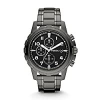 Fossil Dean Chronograph Black Dial Men's Watch –...