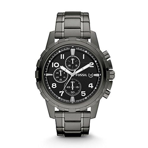 517056l9gaL. SS500  - Fossil Dean Chronograph Black Dial Men's Watch - FS4721
