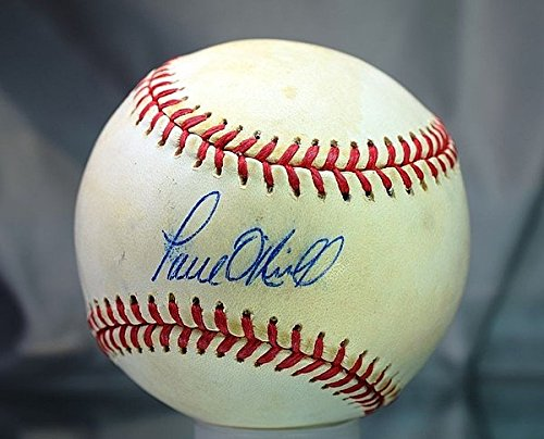 Paul O`Neill Autographed Signed PSA/DNA 1996 World Series Baseball (Paul Oneill Autograph Baseball)