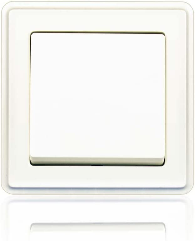 simple Doble balanci/ón minify programa interruptor empotrable ECO Plus con VDE Blanco