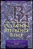 Bible New International Version U/Thin Reference Black T/I, Bible, 0879819545