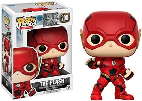 Funko Pop!- Pop Movies: DC Figura de Vinilo The Flash, colección Justice League, Multicolor (13488)