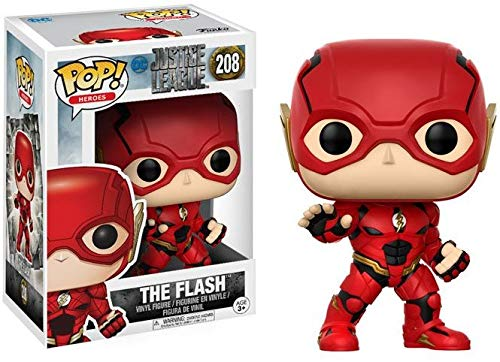 Funko Pop!- Pop Movies DC Figura de Vinilo The Flash, coleccion Justice League, Multicolor (13488)
