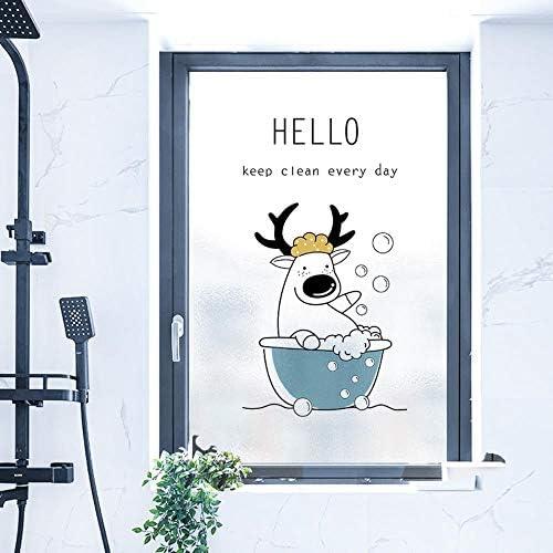 Glasfolie raamfolie melkglasfolie decoratief antiuvwarmtecontrole privacy voor kantoor badkamer slaapkamer