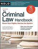 The Criminal Law Handbook, Paul Bergman and Sara Berman, 1413308945