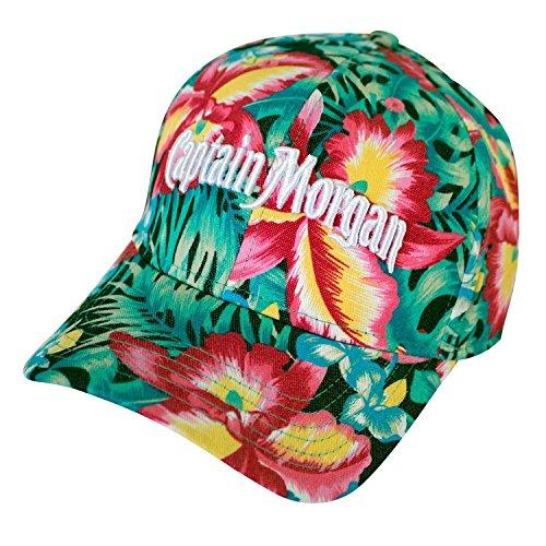 Morgan Mens Hat - Captain Morgan Floral Hibiscus Women's Hat